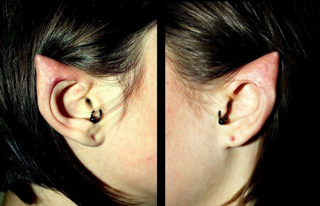 Создание эльфийских ушей